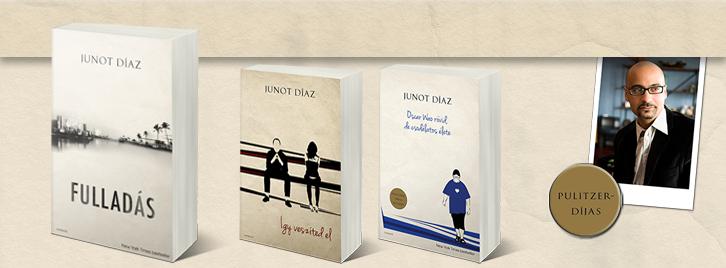 Junot Díaz könyvei